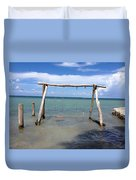 Sea Swing Duvet Cover