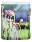 Sea Thrift Duvet Cover