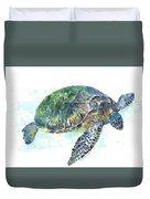 Sea Turtle #20 Duvet Cover