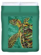 Sea Turtle Duvet Cover