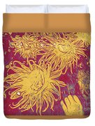 Sea Urchin 6 Duvet Cover