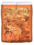 Sea Weathered- Abstract Art Duvet Cover