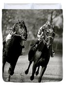 Seabiscuit Vs War Admiral, Match Of The Century, Pimlico, 1938 Duvet Cover