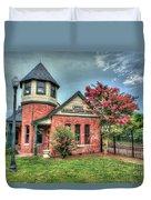 Seaboard Railroad Station Suffolk Va No.1 Duvet Cover