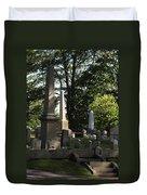 Seacoast Cemetery Duvet Cover