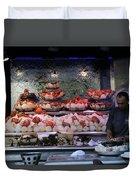 Seafood Restaurant 1 Duvet Cover