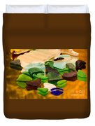 Seaglass Reflections Duvet Cover