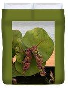 Seagrape Fruits Duvet Cover