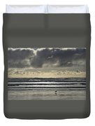 Seagull At Cannon Beach Duvet Cover
