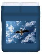 Seagull Flying  Duvet Cover