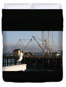 Seagull Morro Bay California Duvet Cover