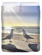 Seagull Sonnet  Duvet Cover