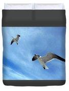 Seagulls # 6 Duvet Cover