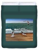 Seagulls 2 Duvet Cover