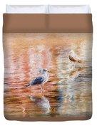 Seagulls - Impressions Duvet Cover