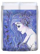 Seahorse Dreams Mermaid Duvet Cover