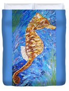 Seahorse Number 1 Duvet Cover