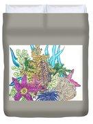Seahorse Sanctuary  Duvet Cover