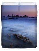 Seal Rock Glow Duvet Cover
