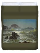 Seal_rock,_california Duvet Cover