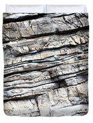 Abstract Rock Stone Texture Duvet Cover
