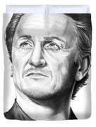 Sean Penn Duvet Cover