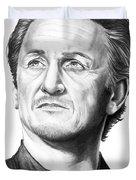 Sean Penn Duvet Cover