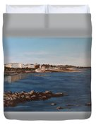 Seapoint From Salthill Duvet Cover