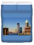 Seaport Ny Duvet Cover