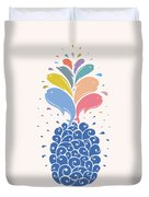 Seapple Duvet Cover