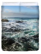 Seas Of The Wild West Coast Of Tasmania Duvet Cover