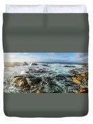 Seas Of The Wild West Coast Of Tasmania Duvet Cover