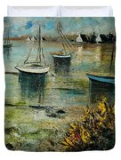 Seascape 78 Duvet Cover