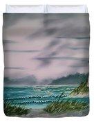Seascape Lighthouse Duvet Cover