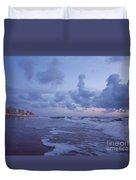 Seascape Lights Duvet Cover