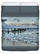 Seascape Puerto Morelos Duvet Cover