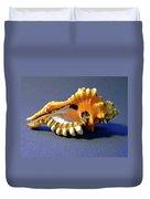 Seashell Cymatium Lotoium Duvet Cover
