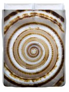 Seashell Spirals Duvet Cover by Bill Brennan - Printscapes