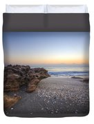 Seashells At The Seashore Duvet Cover