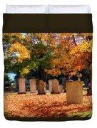 Seaside Cemetery Duvet Cover