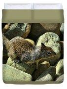 Seaside Ground Squirrel Duvet Cover