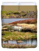 Seaside Marsh Duvet Cover
