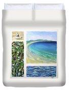 Seaside Memories Duvet Cover