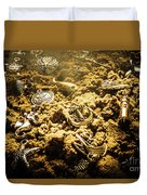 Seaside Of Creative Charms Duvet Cover