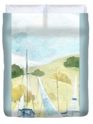 Seaside Sails Duvet Cover