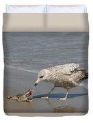 Seaside Snack - 3 Duvet Cover