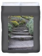 Seaside Steps Duvet Cover