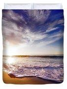 Seaside Sunset Duvet Cover