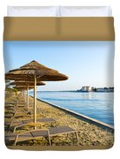 Seaside Time Duvet Cover