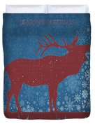 Seasonal Greetings Artwork Duvet Cover
